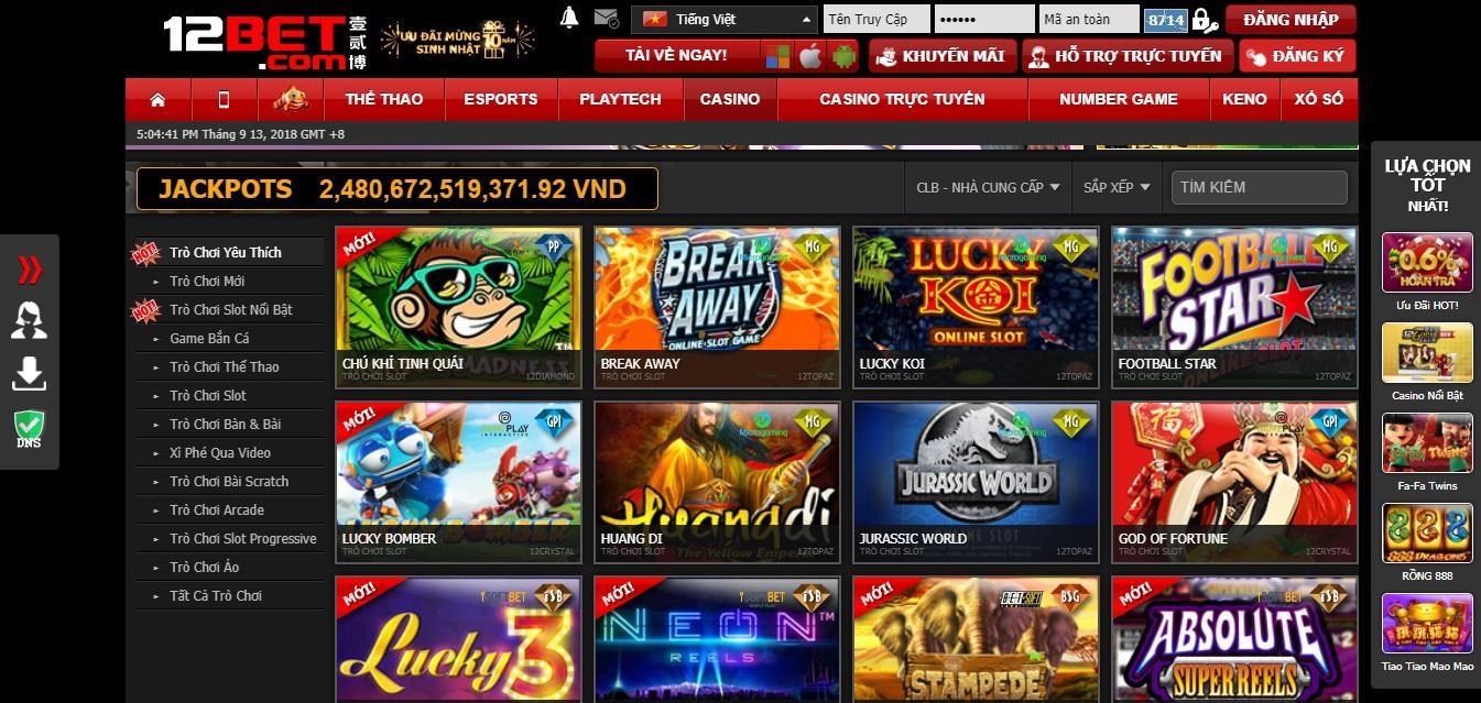 casino nhà cái 12bet