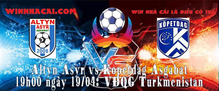 Altyn Asyr vs Kopetdag Asgabat