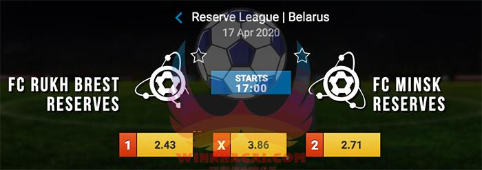 Rukh Brest (R) vs FC Minsk (R)