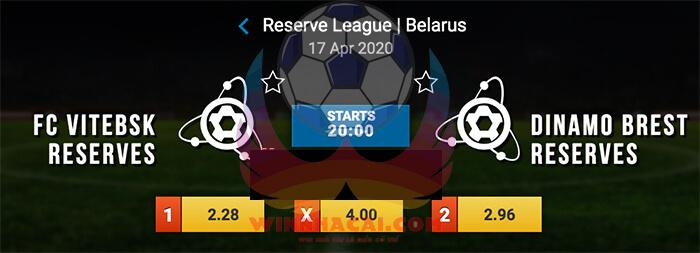 Vitebsk (R) vs Dinamo Brest (R)