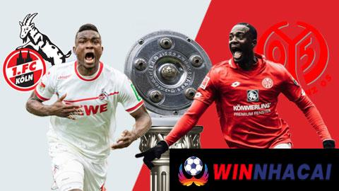 Biến động kèo nhà cái Cologne vs Mainz 05