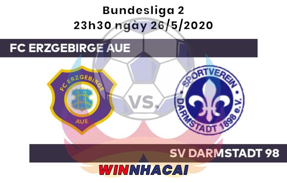 Erzgebirge Aue vs Darmstadt
