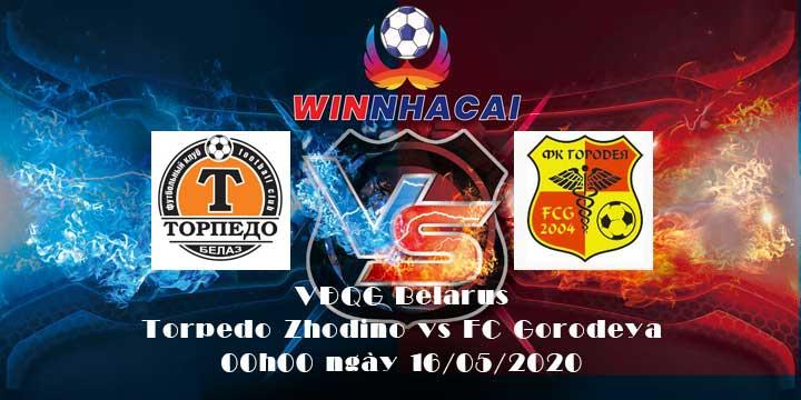 Torpedo Zhodino vs FC Gorodeya