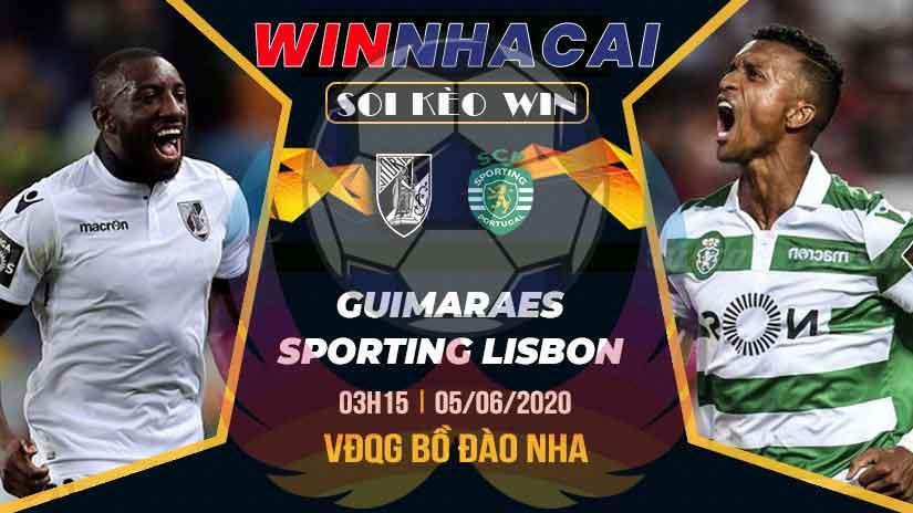 Soi kèo WIN 04/6/2020: Kèo phạt góc trận Guimaraes vs Sporting Lisbon