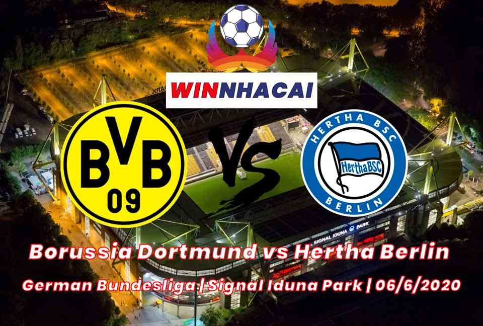 Borussia Dortmund vs Hertha Berlin | German Bundesliga | Signal Iduna Park | 06/6/2020
